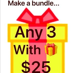 Bundle 🎁 deal!!!